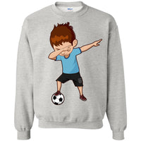 Soccer Sweatshirt for Boys Men Women Cute Funny Dabbing Dance Soccer Sweatshirt