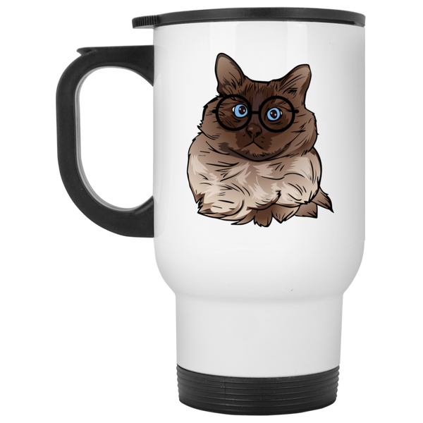 Balinese Cat Travel Coffee Mug, Cat Lover Gifts 9186A