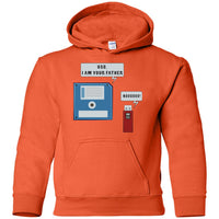Funny Computer Nerd Geek Unisex Hoodie for Men Women Boys Girls Youth Kids Plus Size