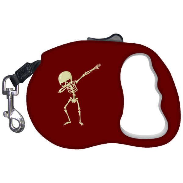 Halloween Skeleton Dabbing Pet Dog Leash, Gifts for Trick Treat Skull Party