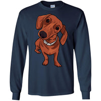 Dachshund  Long Sleeve Shirt, Funny Gift for Cute Dog Lovers