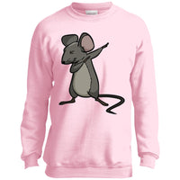 Dabbing Mouse Rat Sweatshirt, Gifts for Rodent Lovers