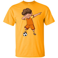 Soccer Shirt for Boys Men Women Cute Funny Dabbing Dance Soccer T Shirt