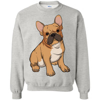 French Bulldog Sweatshirt, Funny Gift for Cute Dog Lovers