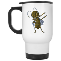 Grasshopper Travel Coffee Mug, Dabbing Gifts for Insect Bug Lovers