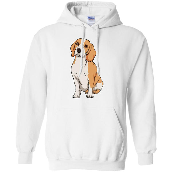 Beagle Hoodie Sweatshirt, Funny Gift for Cute Dog Lovers