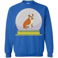 Snowglobe Sweatshirt, Bulldog Gifts for Dog Lovers