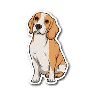 Beagle Sticker, Funny Gift for Cute Dog Lovers