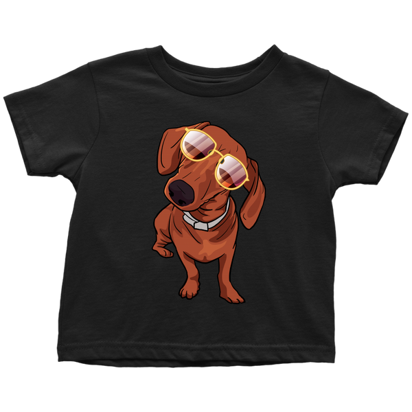 Dachshund Shirt for Toddlers, Cute Gift for Cute Dog Lovers