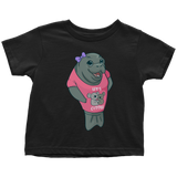 Manatee Lets Cuddle Commercial Novelty Toddler T Shirt for Boys Girls Kids