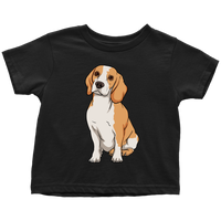 Beagle Shirt for Toddlers, Funny Gift for Cute Dog Lovers