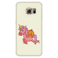 Halloween Unicorn Pumpkin Phone Case for Samsung, Gifts for Trick Treat Party
