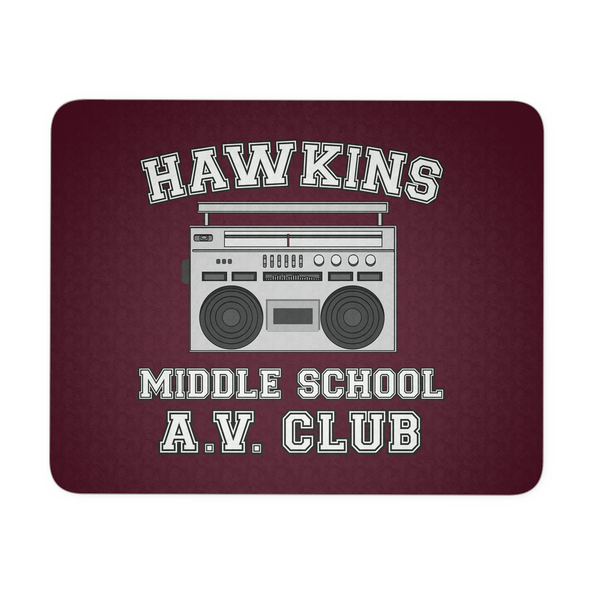 Hawkins Middle School Mousepads for Women Men Kids Gamers