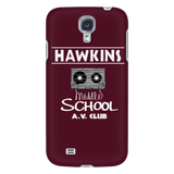 Stranger Hawkins Middle School Samsung Galaxy Smart Phone Case for Women Men Kids Things A V Club