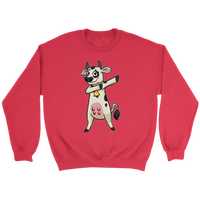 Dabbing Cow Sweatshirt, Gifts for Farm Animal Lovers