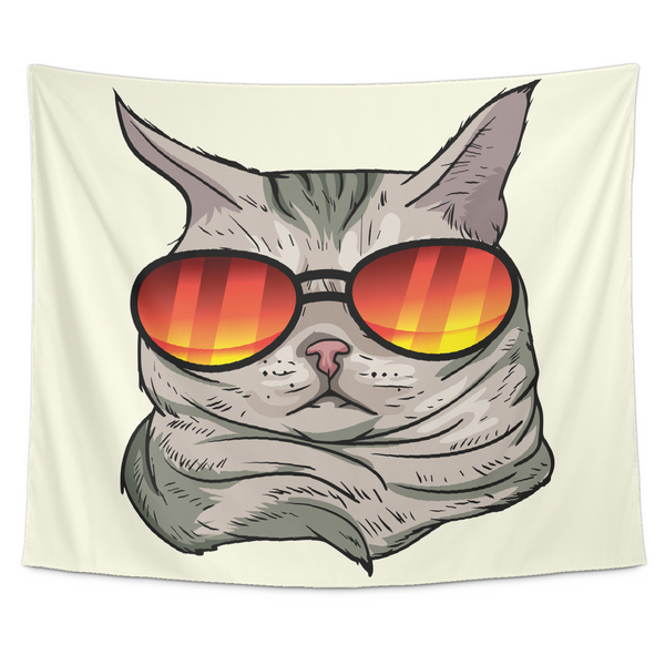 American Shorthair Cat Wall Hanging Tapestry, Cat Lover Gifts 9184A