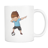 Cute Funny Dabbing Dance Soccer Coffee Mugs for Men Women