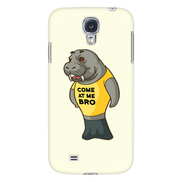 Manatee Come At Me Bro Commercial Novelty Smart Phone Case for Samsung Galaxy