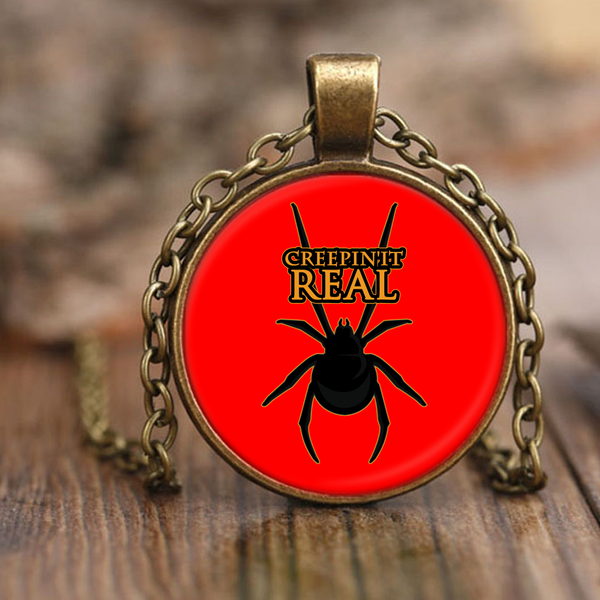 Funny Halloween Funny Vampire Charm Pendant Necklaces for Women Men Kids