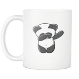 Panda Shirt Funny Christmas Dabbing Dab Dance Panda Bear Funny Coffee Mugs for Men Women