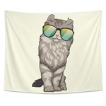 American Curl Cat Wall Hanging Tapestry, Cat Lover Gifts 9183A