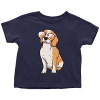 Beagle Shirt for Toddlers, Cute Gift for Cute Dog Lovers