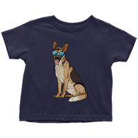 German Shepherd Shirt for Toddlers, Cute Gift for Dog Lovers