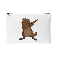 Groundhog Day Funny Dabbing Dance Groundhog Coin Purse For Women Girls Boys Men