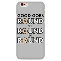 Good Goes Round Cereal Smart Phone Case for Women Men Kids