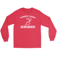 Shrute Farms Bed n Breakfast Beets Long Sleeve T Shirt for Men and Women