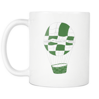 Stranger of Things Dustin Hawkins Hot Air Balloon Funny Coffee Mugs for Men Women