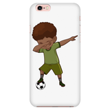 Cute Funny Dabbing Dance Soccer Smart Phone Case for iPhone