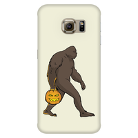 Halloween Bigfoot Sasquatch Pumpkin Phone Case for Samsung, Gifts for Costume Party