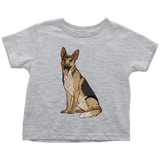 German Shepherd Shirt for Toddlers, Funny Gift for Dog Lovers