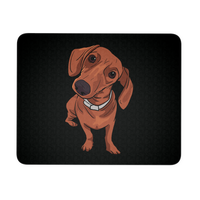 Dachshund Mousepads, Funny Gift for Cute Dog Lovers