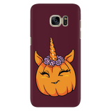 Unicorn Pumpkin Halloween Phone Case for Samsung, Gifts for Trick Treat Costume Party