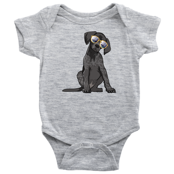 German Shorthaired Pointer Dog Baby Romper Bodysuit, Funny Dog Lover Gifts 9169A