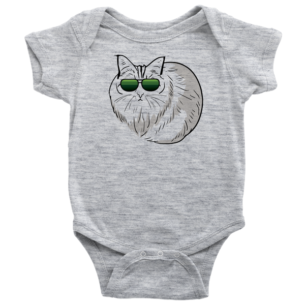 Birman Cat Baby Romper Bodysuit, Cat Lover Gifts 9188A