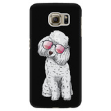 Poodle Smart Phone Case for Samsung Galaxy, Cute Gift for Cute Dog Lovers