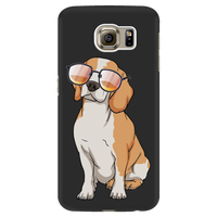 Beagle Smart Phone Case for Samsung Galaxy, Cute Gift for Cute Dog Lovers