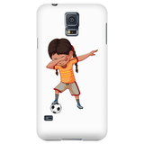 Funny Dabbing Dance Soccer Smart Phone Case for Samsung Galaxy for Men Women