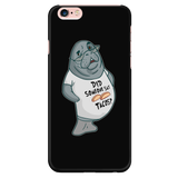Manatee Did Someone Say Tacos Commercial Novelty Smart Phone Case for iPhone