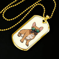 French Bulldog Dog Tag, Cute Gift for Cute Dog Lovers