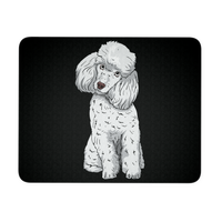 Poodle Mousepads, Funny Gift for Cute Dog Lovers