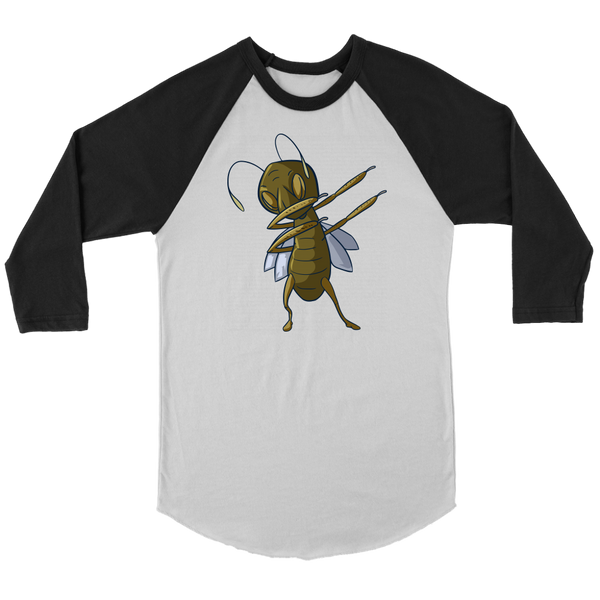 Grasshopper Raglan Shirt, Dabbing Gifts for Insect Bug Lovers