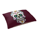 Skull Dog Cat Pet Bed, Sugar Gifts for Day of the Dead