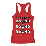 Good Goes Round Cereal Racerback Tank Top for Women