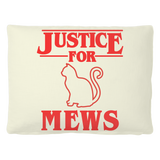 Justice for Mews Dog Cat Pet Bed, Christmas Gifts for Cat Lovers
