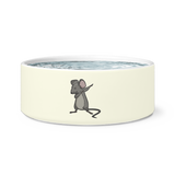 Dabbing Mouse Rat Pet Dog Bowl, Gifts for Rodent Lovers