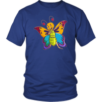 Butterfly Tee Shirt, Moth Lover Gifts